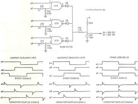 FIGURE 22. 1679/1681 DC MOTOR CONTROL PHASE SEQUENCE CIRCUIT