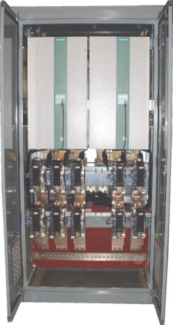Frontier Drilling DC Drive Cabinet. Go to Recent Projects page.