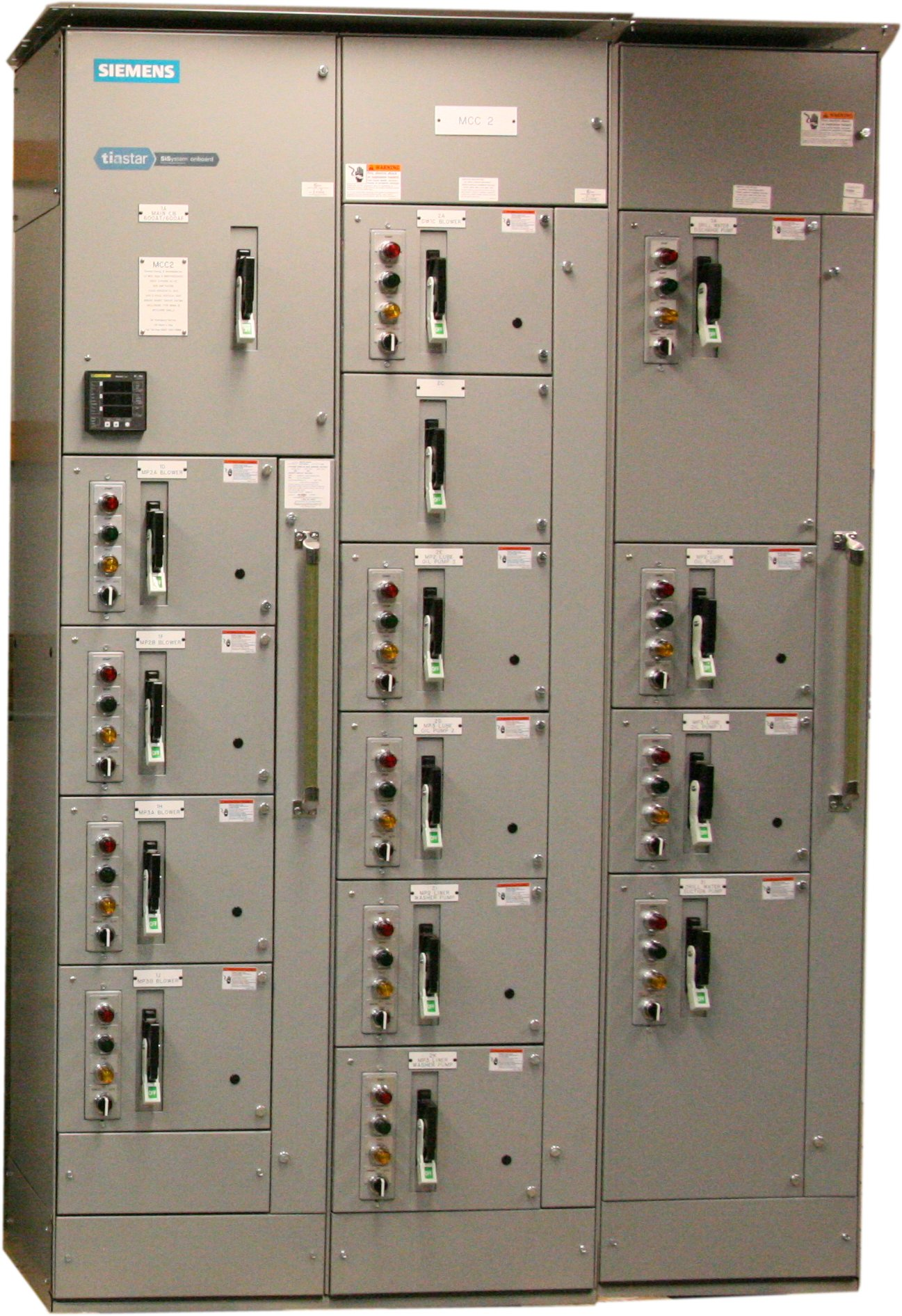 Westinghouse 2100 series mcc bucket pics about space for Cutler hammer motor control centers