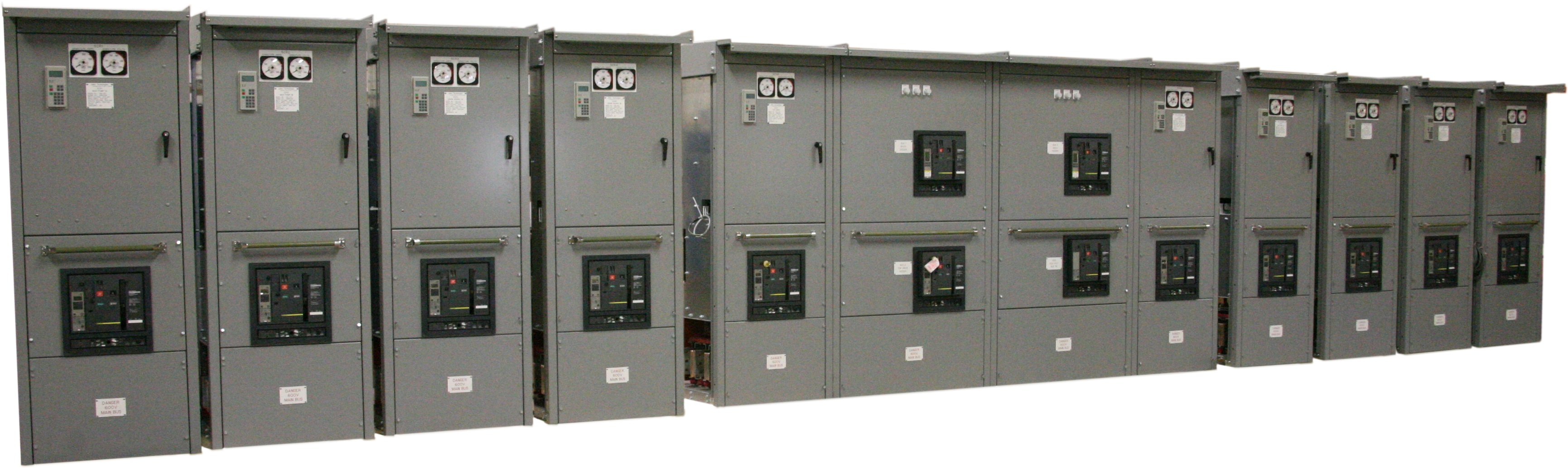 Joliet Technologies Engineers And Manufactures 10 DC Variable Speed Drives,  2 Feeder Cabinets U0026 2