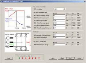 ABB DCS800Wizard - Nameplate Data